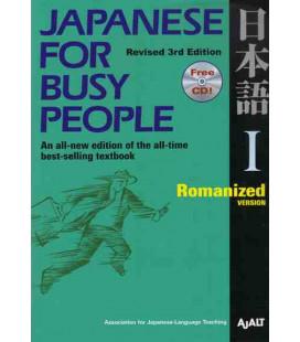 Japanese for Busy People 1. Romanized Version (3. überarbeitete Auflage) – enthält eine CD