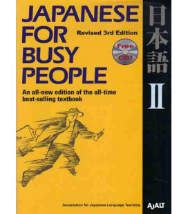 Japanese for Busy People 2. Kana Version (Revised 3rd. Edition)- Incluye CD
