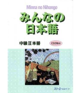 Minna no Nihongo- Mittelstufe 2 (Lehrbuch) – enthält 2 CDs