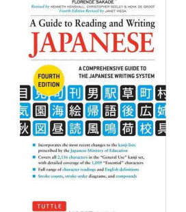 A Guide to Reading and Writing Japanese (4. Auflage)