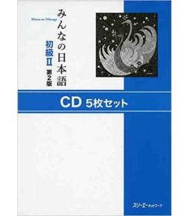 Minna No Nihongo 2- Set mit 5 CDs (2. Auflage)