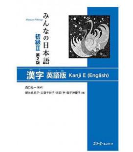 Minna no Nihongo 2 –Kanji-Buch auf Englisch (2. Auflage)