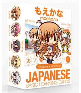 Moekana (Second Edition) Hiragana-Katagana Flashcards (Um Hiragana und Katagana zu leernen)