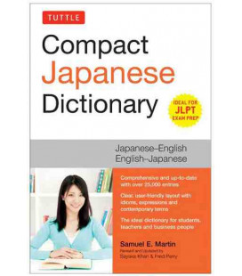Compact Japanese Dictionary (Japanese-English/English-Japanese)- Ideal for JLPT Exam Prep.