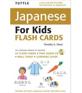 Tuttle Japanese for Kids Flash Cards Kit (enthält eine CD)