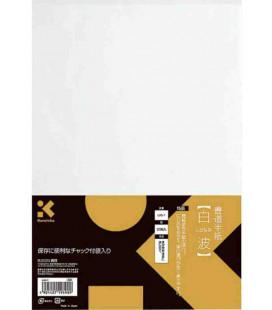 Kalligraphieblätter Kuretake – model la5-4 (Hohe Qualität – 50 Blätter)