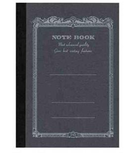 Apica CD10-BK Notebook (Tamaño A6, color negro)